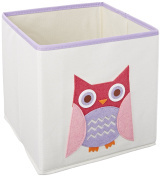 Whitmor Canvas 25cm Collapsible Cube,