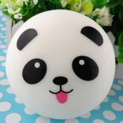 Jumbo Squishy Slow Rising Chubby Panda Bread Bun Phone Strap Charm Handbag Pendant Props Kid Toy 10cm