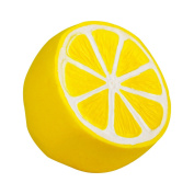 Autrix Jumbo Slow Rising Squishies Scented Lemon Squishy Stress Relief Toy Charms