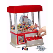 The Claw Mini Arcade Toy Grabber Machine with Sounds and Coins