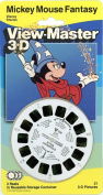 Mickey Mouse - FANTASY - Classic ViewMaster - 3 Reel on Card - Unopened and PRISTINE