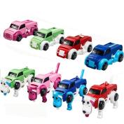 Likero The Dog Car Transformer Novelty Clockwork Deformable Car Dog Kids Toy