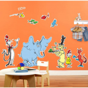 Dr. Seuss Favourites Giane Wall Decal