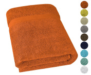 650 GSM, Jumbo Size 90cm x 180cm Luxury Hotel & Spa Collection Bath Sheet, Turkish Towels, Cotton for Maximum Softness and Eco-Friendly,by United Home Textile