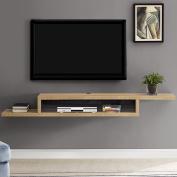 Martin Furniture IMAS370B Asymmetrical Audio/Video Console, 180cm , Burka Bark