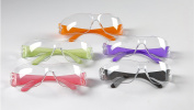 12pak Safety Glasses for Nerf Gun Kids Party - Clear Lens w/Multi-Coloured Frames
