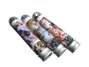 The Fun Jigsaw Puzzles For Kids Girls & Boys Creative Leisure Tourism Mini Jigsaw Puzzle Set with Tube Bottle Blueprint