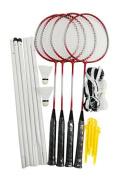 Heemika 4 Player Sport Badminton Racket Racquet Set With Nets Shuttlecock