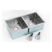 Kokols HS2818 Double Basin Undermount Kitchen Sink