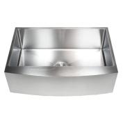 eModern Decor Ariel 80cm x 50cm Stainless Steel Single Bowl Farmhouse Kitchen Sink