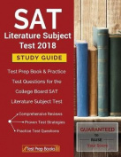 SAT Literature Subject Test 2018 Study Guide