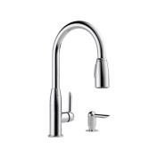 DELTA FAUCET CO P188103LF-SD Chrome Single Hand Kit Faucet