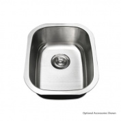 Luxier Stainless Steel 46cm x 38cm Undermount Kitchen Sink