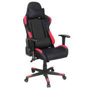 Homevol Racing Gaming Chair, High Back Breathable Fabric Durable Metal Frame Ergonomic Office Chair with Height Adjustable Armrests