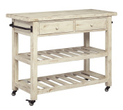 Marlijo Kitchen Cart White