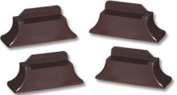 Stander Recliner Risers - Adapatable Slip Resistant Easy Chair Lift - Set of 4