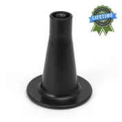 7.6cm - 1.6cm Tall Replacement Bed Frame Glide Feet, Cone Shaped, Set of 4