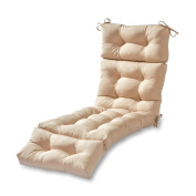 Greendale Home Fashions 180cm Outdoor Chaise Lounge Cushion, Stone