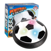 Kids Toys Air Power Soccer Disc Football KILI BEAM The Amazing Hover Ball with powerful LED light Size 4 Boys Girls Sport Children Pet Dog Light-Up Toys Indoor Outdoor Disc Hover Ball Game