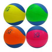 Macro Giant 15cm Safe Soft Foam Training Practise Basketball, Set of 4, Playground Ball, Kid Sports Toys, Neon Colours, Kid Toy Gift, Birthday Gift, New Year Gift
