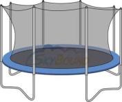 4.3m Universal Trampoline Enclosure Safety Net