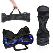 Self-Balancing Scooter Carrying Handbag Backpack Bag for 17cm 18cm and 20cm Two-Wheel Hover Electric Skate Board Smart Balancing Scooters Storage Mesh Pocket Bag by GameXcel