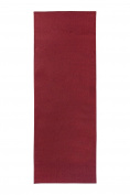 Ritz Accent Door Rug Runner with Non-Slip Latex Backing, 50cm by 150cm Kitchen & Bathroom Runner Rug, Red
