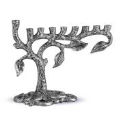 Zion Judaica Artistic Menorah Tree of Life