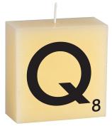 """CERABELLA LETTER CANDLE """"Q"""" - 8.9cm x 8.9cm"""