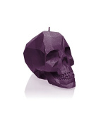 Candellana Candles Small Skull Candellana Candle, Violet