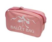 Tappers & Pointers Shoulder Bag - Pink Ballet Bag