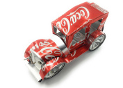 Handmade Classic Cars - Built with Coca-Cola Aluminium Cans and Recycled Materials