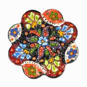 Nimet Classical Turkish Porcelain Coaster 10cm by Paykoc N50003 Red