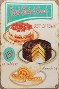 66Retro Fresh Baked Goods Best in Town!, Metal Tin Sign, Wall Decorative Sign by 66retro