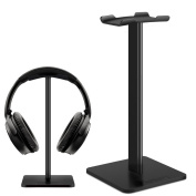 Headphone Stand Gaming Headset Stands Link Dream Solid Aluminium+TPU+ABS Headphone Headset Hanger Holder Mount Headphone Display for Most Headphones Bose,Beats,B & O,Sennheiser,Sony,AKG etc.