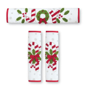Chirstmas Kitchen Candy Cane Appliance Handle Covers