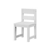 Maxtrix Solid Hardwood Kids' Chair, White