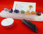 10 pc Chakra Crystal Healing Kit