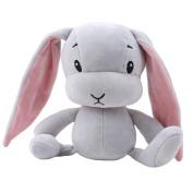 GUAngqi Lovely Rabbit Plush Toys Soft Baby Sleeping Comfort Doll ,grey