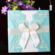 YUFENG 60pcs Laser Cut Wedding Invitations Cards Kits for Marriage Engagement Birthday Bridal Shower