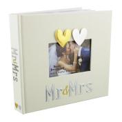 "Beautiful Ivory ""Mr & Mrs"" Wedding Photo Album by Haysom Interiors"
