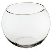 CYS Glass Bubble Bowl, Fish Bowl Hand Blown Glass, Body D-15cm