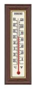 Springfield Wood Grain Indoor Thermometer