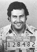 Pablo Escobar Mugshot Photo Art Artwork 8x12