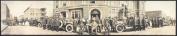 1914 Garys Fire fighters, 1914 110cm Vintage Panorama photo
