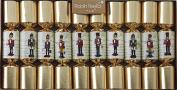 Robin Reed Nutcracker Traditional Christmas Crackers 25cm x 22cm