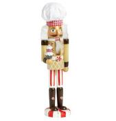 Holiday Sweet Treats Cupcake-Baking Nutcracker 38cm