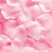 1000pcs Light Pink Silk Rose Flower Petals Wedding Table Scaters Confetti Favour Bridal Party Decoration