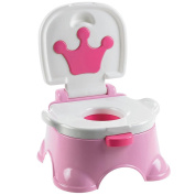 Multiware Baby Potty Toddler Toilet Kids Green Music Potty Training Seat Pink