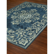 Dalyn Beckham Area Rugs - BC185 Traditional Oriental Ivory Swirls Leaves Vines Petals Rug